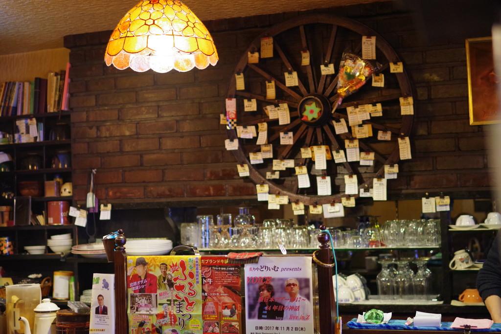 喫茶DanBo(ダンボ)店内カウンター