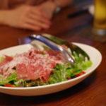 イタリア産生ハムサラダ:750円/BRUCO