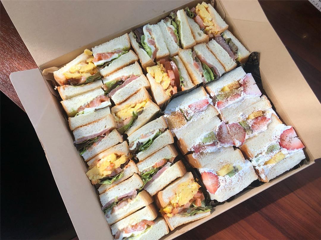 「サンドBOX」¥3500(税込)/カフェ・アグレアヴル